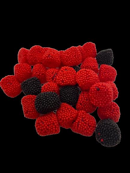 Gummy Raspberry & Blackberries  8 oz bag