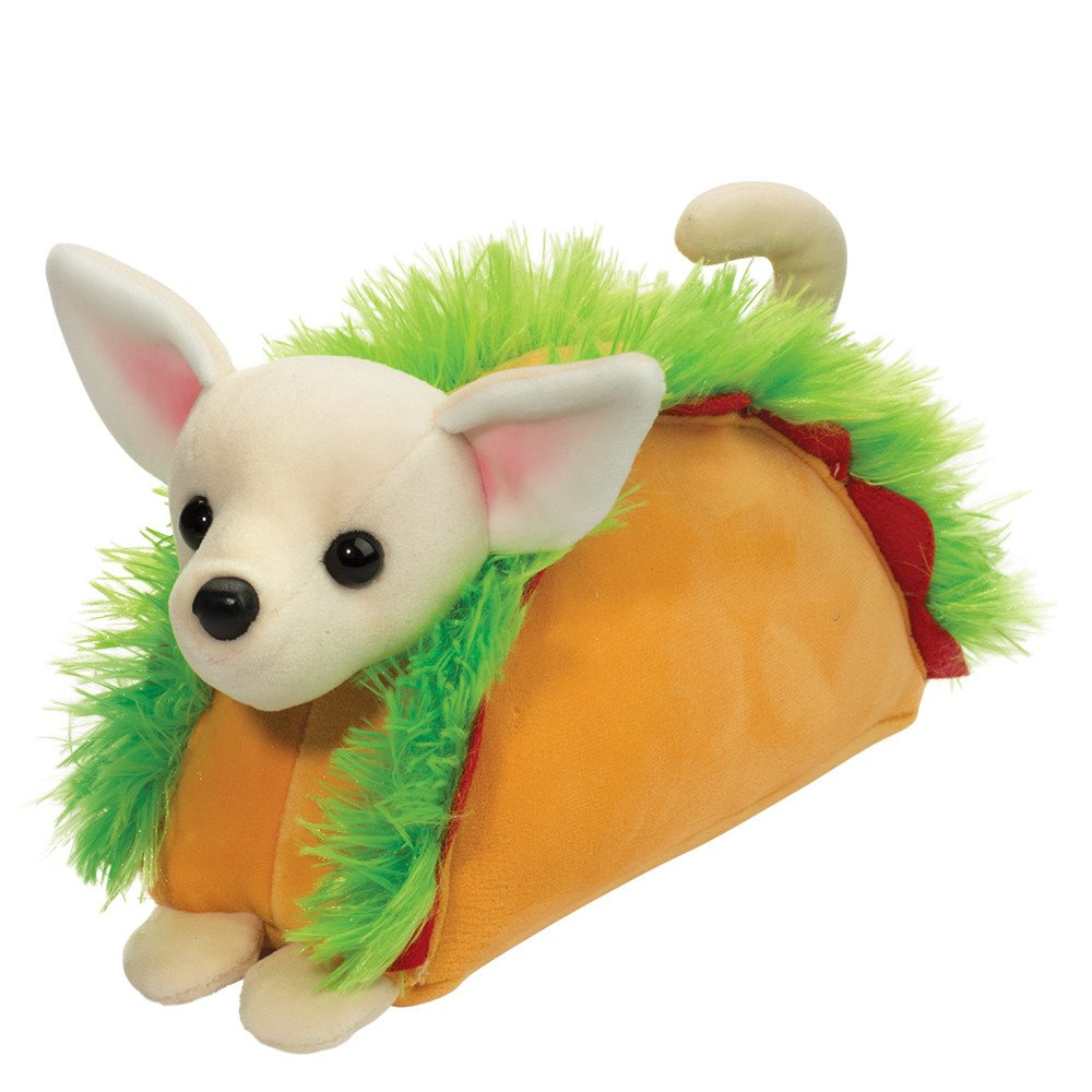 Plush Taco Chihuahua