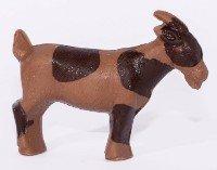 Papa Goat - 7oz milk chocolate goat with spots