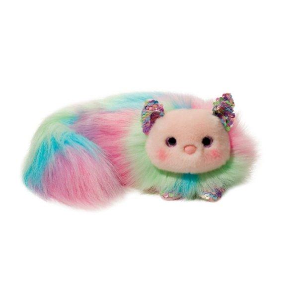 Plush Rainbow Cat