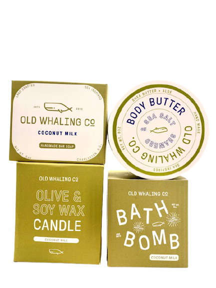 Gift Set Coconut 4 pc Old Whaling Co.