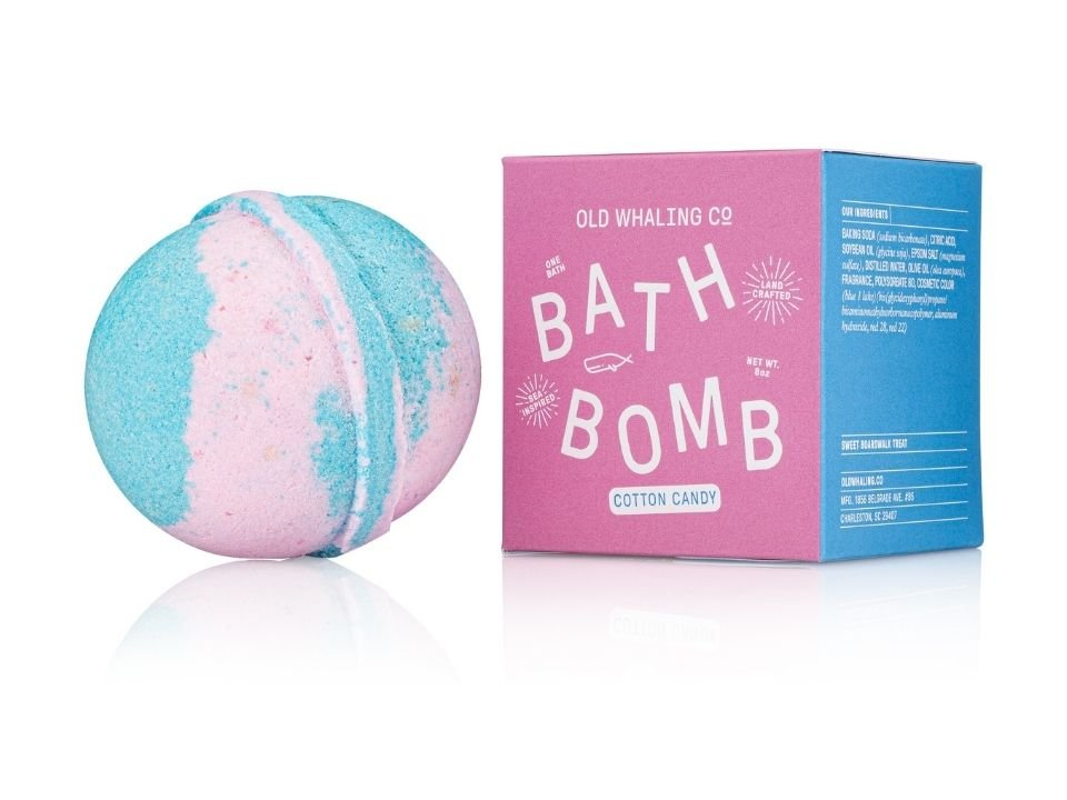 Bath Bomb Cotton Candy 8 oz