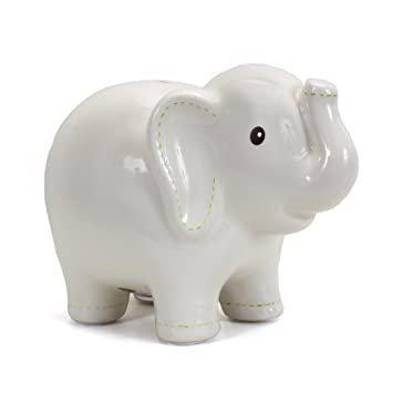 Bank elephant white