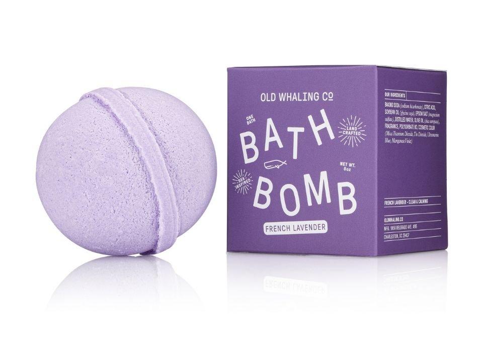 Bath Bomb French Lavender 8 oz