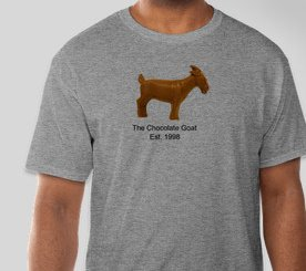 Tee Shirt The Chocolate Goat Men's
