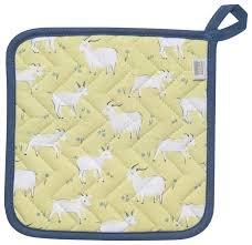 Goat hot pad
