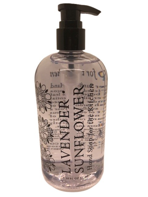 Liquid soap -  Lavender sunflower 16oz