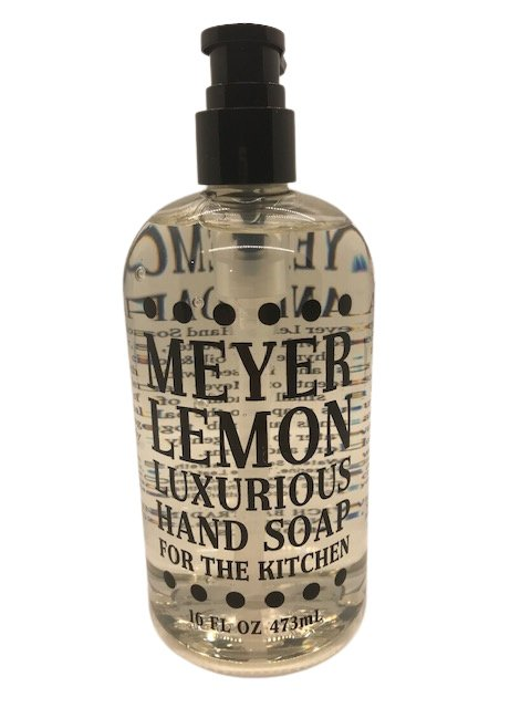 Liquid soap -  Meyer Lemon 16oz