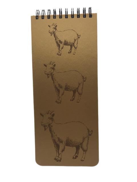 Goat notebook