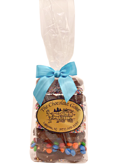 Chocolate Covered Pretzels Sleeve  9 pieces