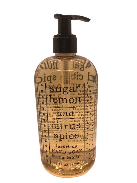 Liquid soap - Sugar Lemon 16oz