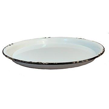Enamel Round Plate - 11