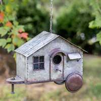 Happy Camper Bird House
