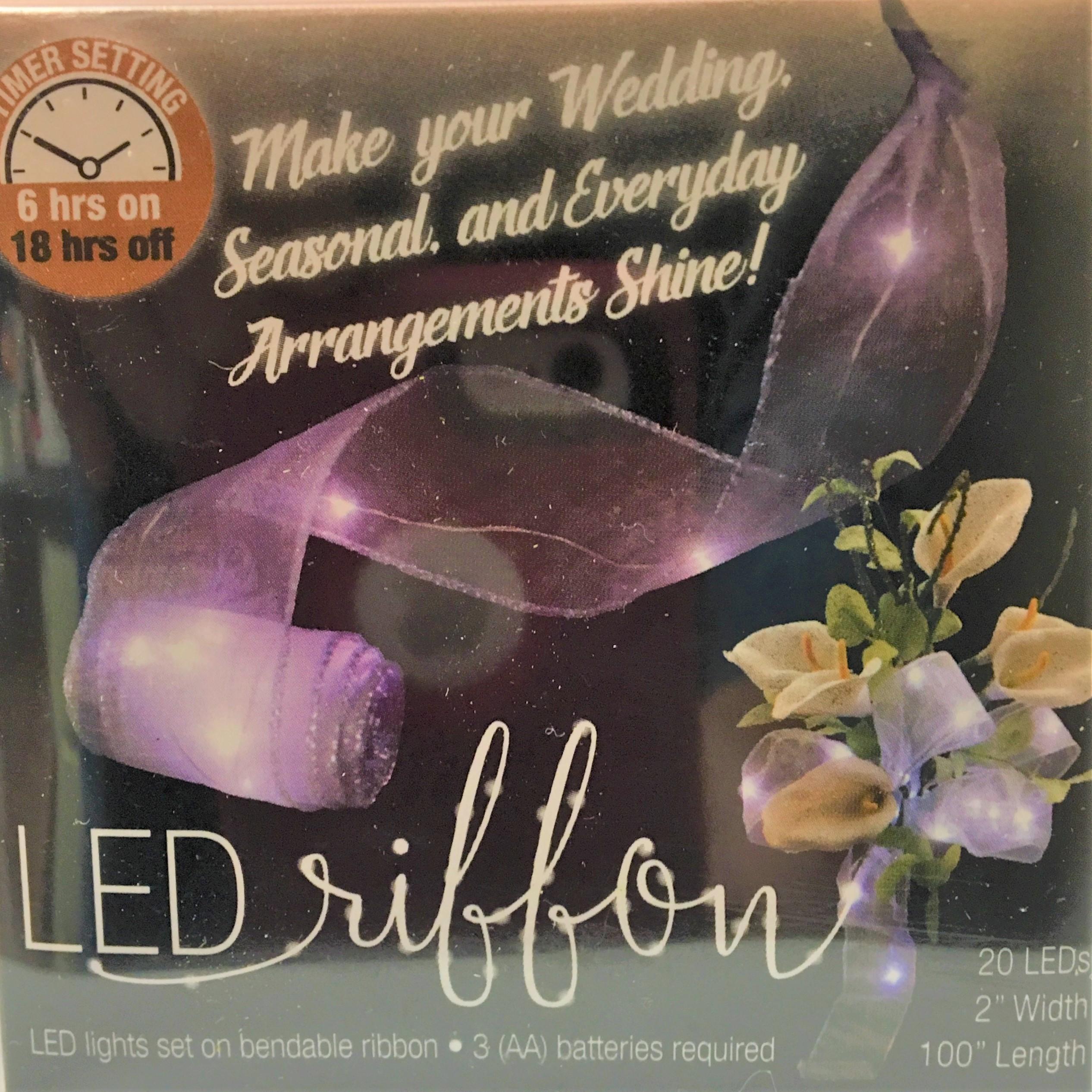 LED Timer Ribbon