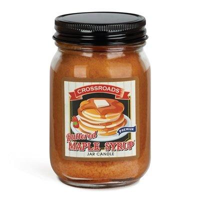 Buttered Malpe Syrup - 12oz Pint  Jar