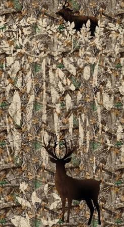 10367 Realtree Deer Panel