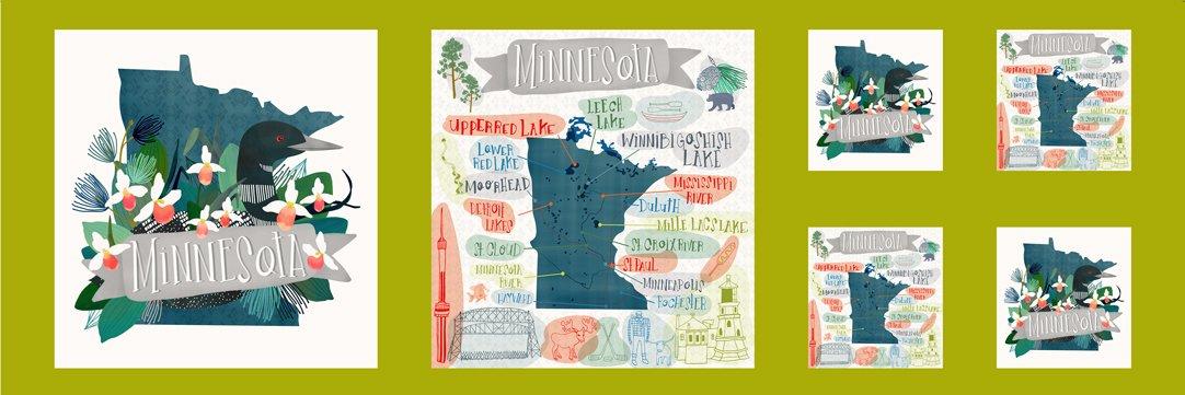 13360 11 Lakeside Story Minnesota Panel