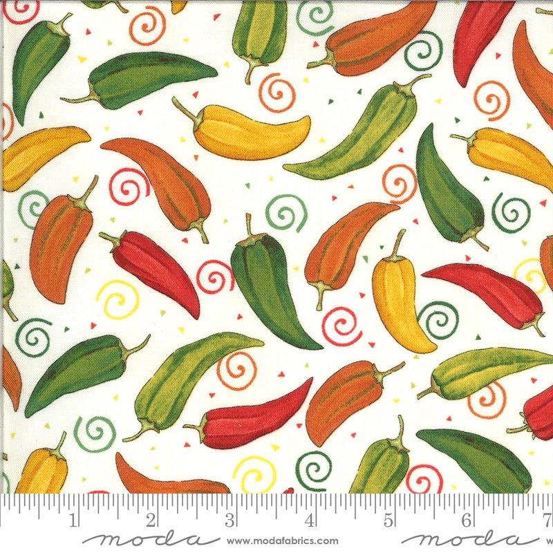 19971 11 Homegrown Salsa Pepper fabric