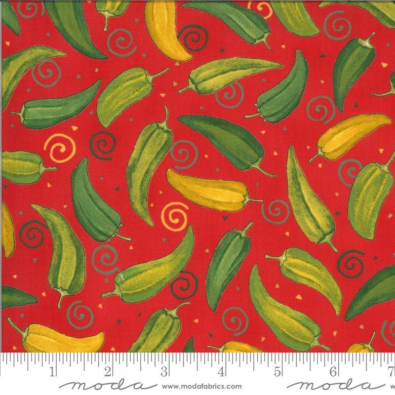 19971 13 Homegrown Salsa Pepper fabric