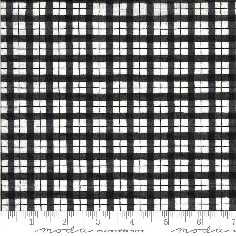 19974 15 Homegrown Salsa plaid fabric