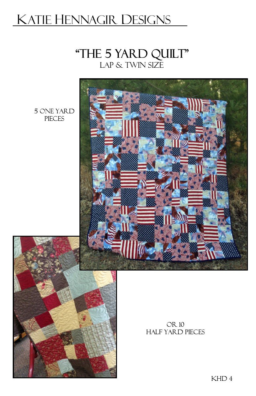 KHD 5 Yard Quilt pattern