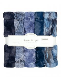 Luxe Cuddle Strips in Chambray