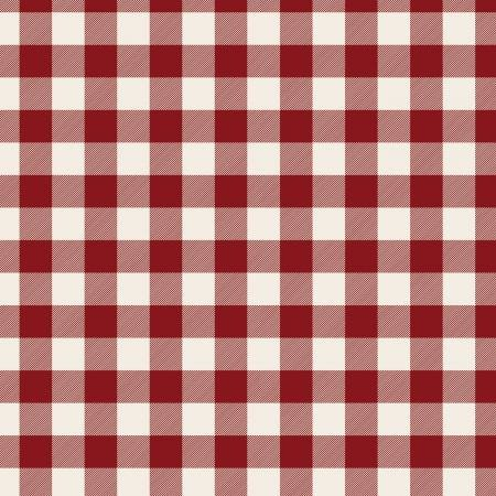 F9970-red Flannel Christmas Plaid