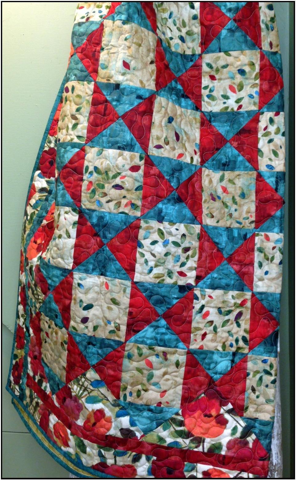 KHD Fantastic Four Yard quilt pattern
