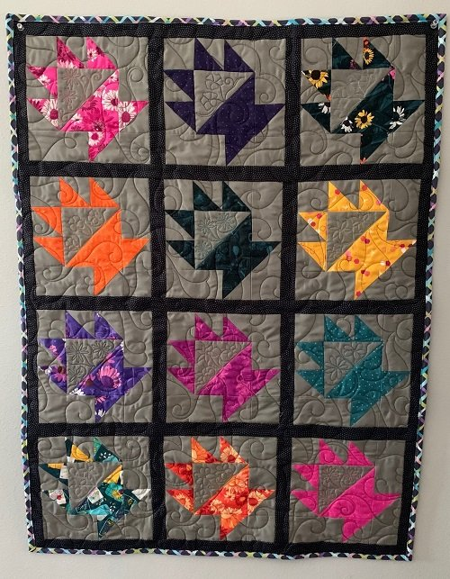 Friendship Basket Quilt Kit