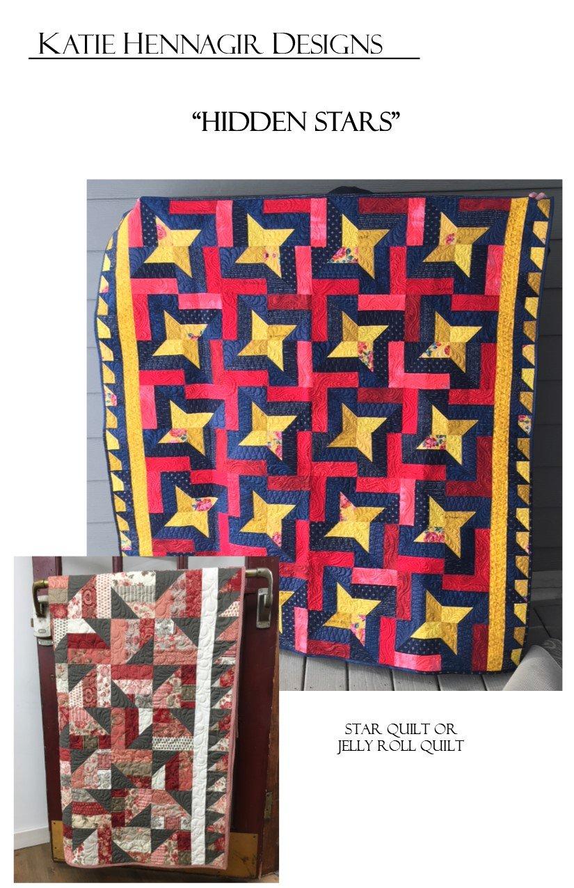 KHD Hidden Stars quilt pattern