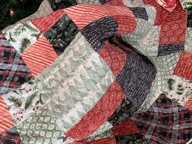 Christmas 5 Yard Quilt Kit