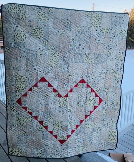 Love You More Quilt Kit