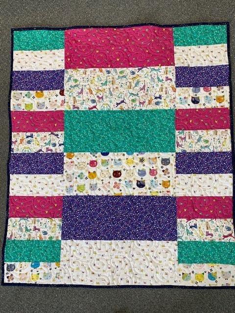 Child's Play Kitten Quilt Kit
