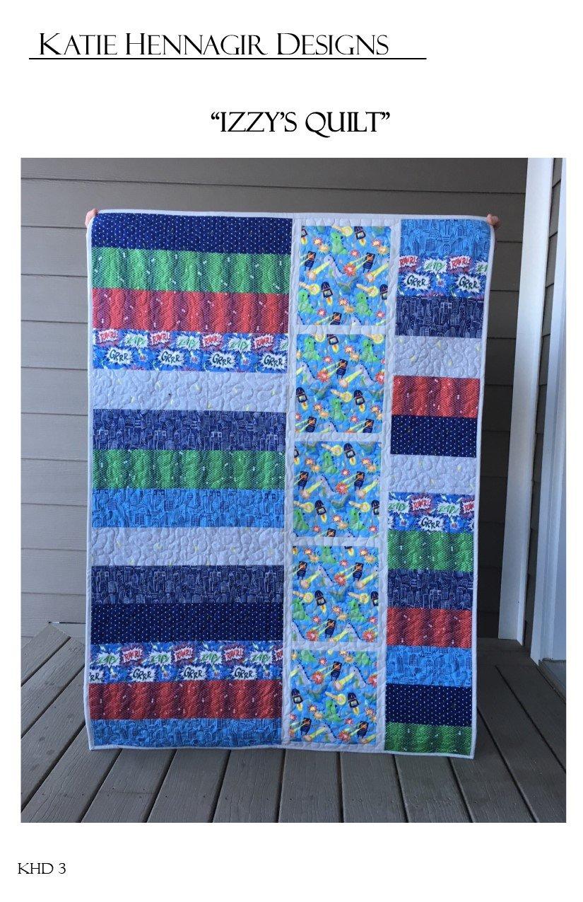 KHD Izzy's Quilt Pattern