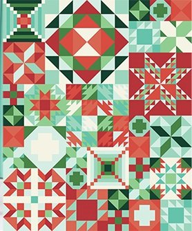 Cookie Tin Quilt Kit My Favorite Color is Moda