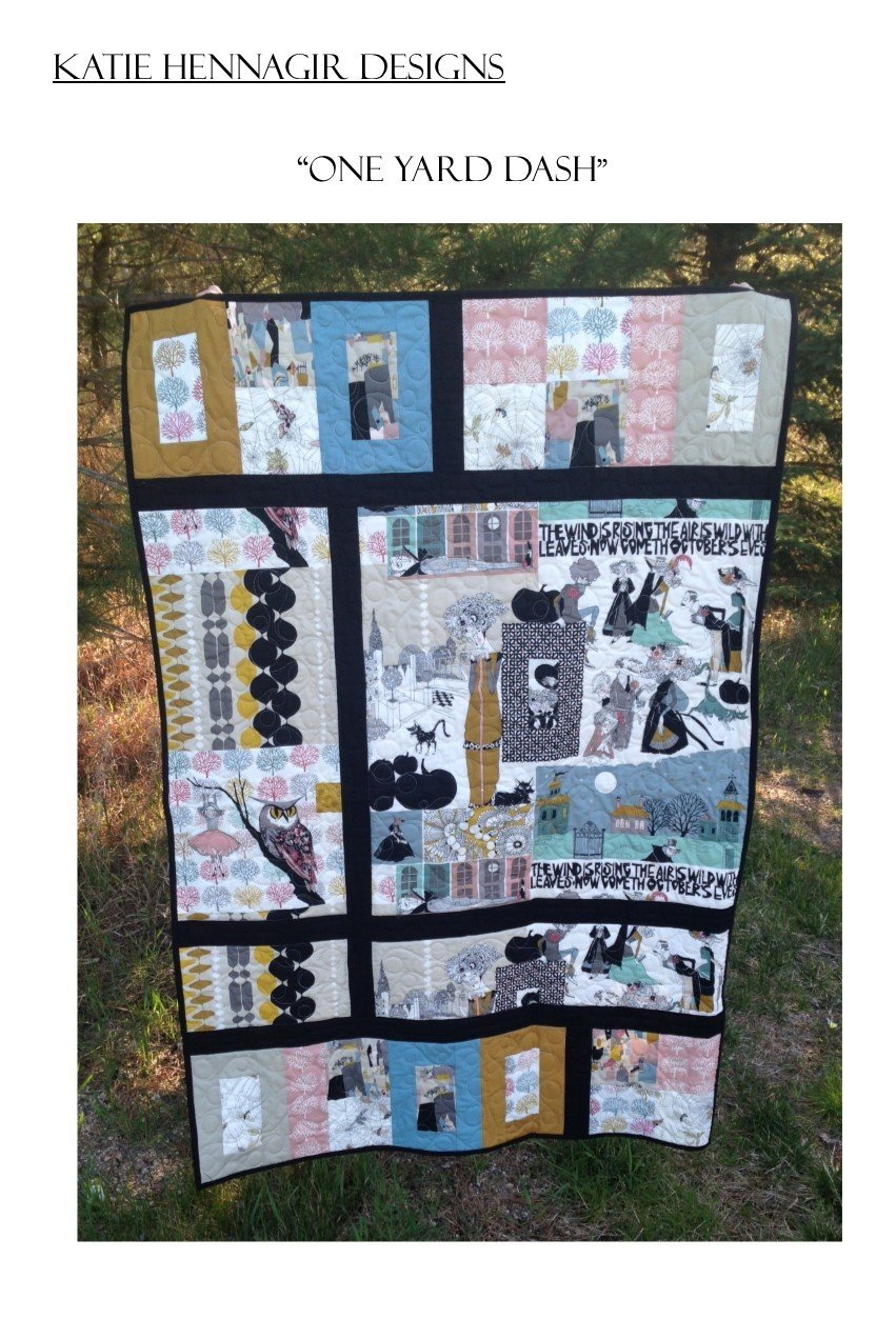 KHD One Yard Dash quilt pattern