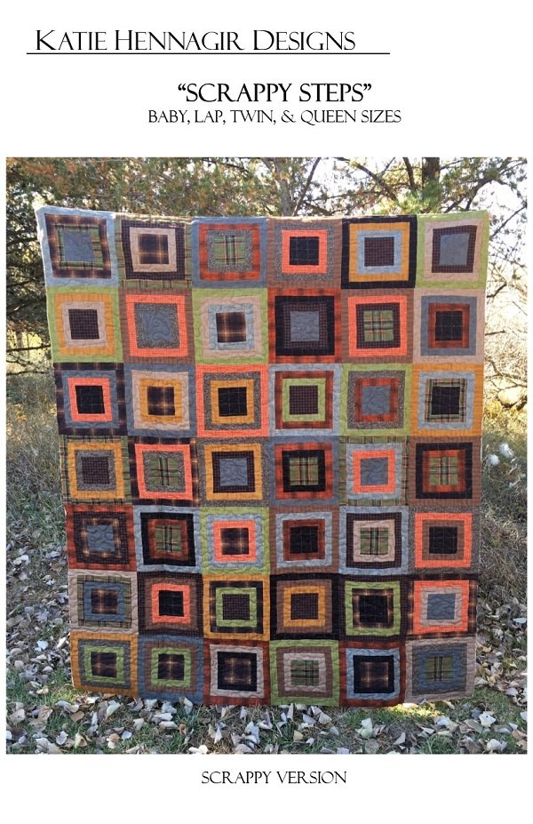 KHD Scrappy Steps quilt pattern