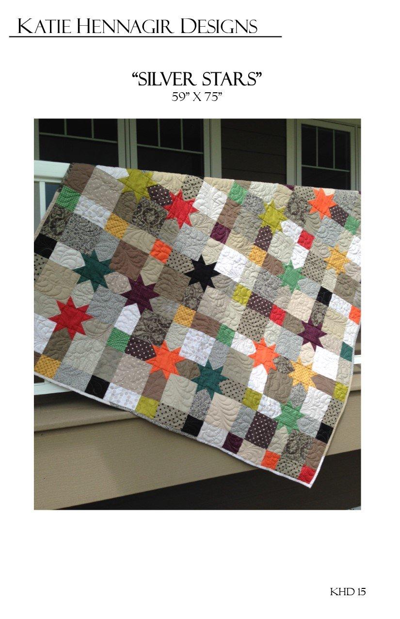 KHD Silver Stars quilt pattern