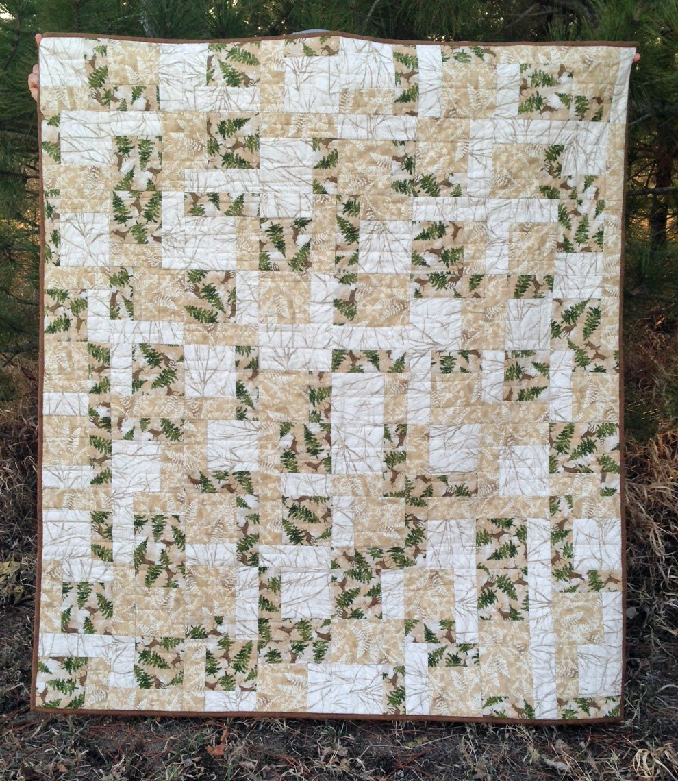 KHD Three Yard Throw quilt pattern