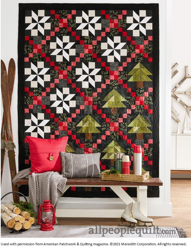 Walk in the Woods Quilt Kit