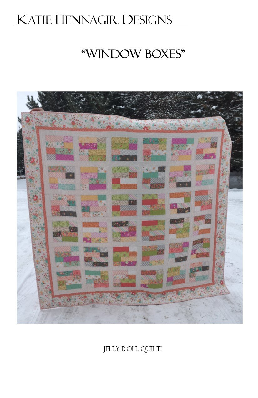 KHD Window Boxes Quilt pattern