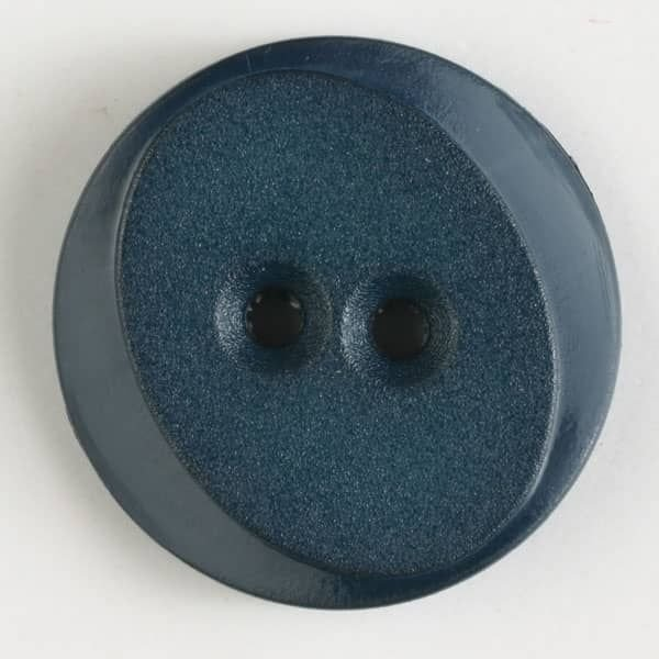 Beveled Round polyamide button with 2 holes