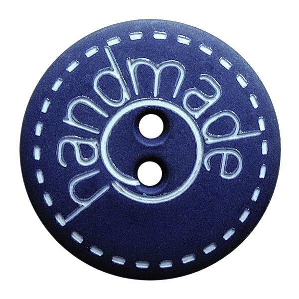 Round handmade button