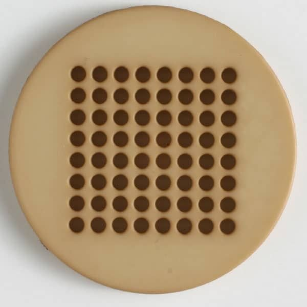 Needlepoint Button with 64 Holes