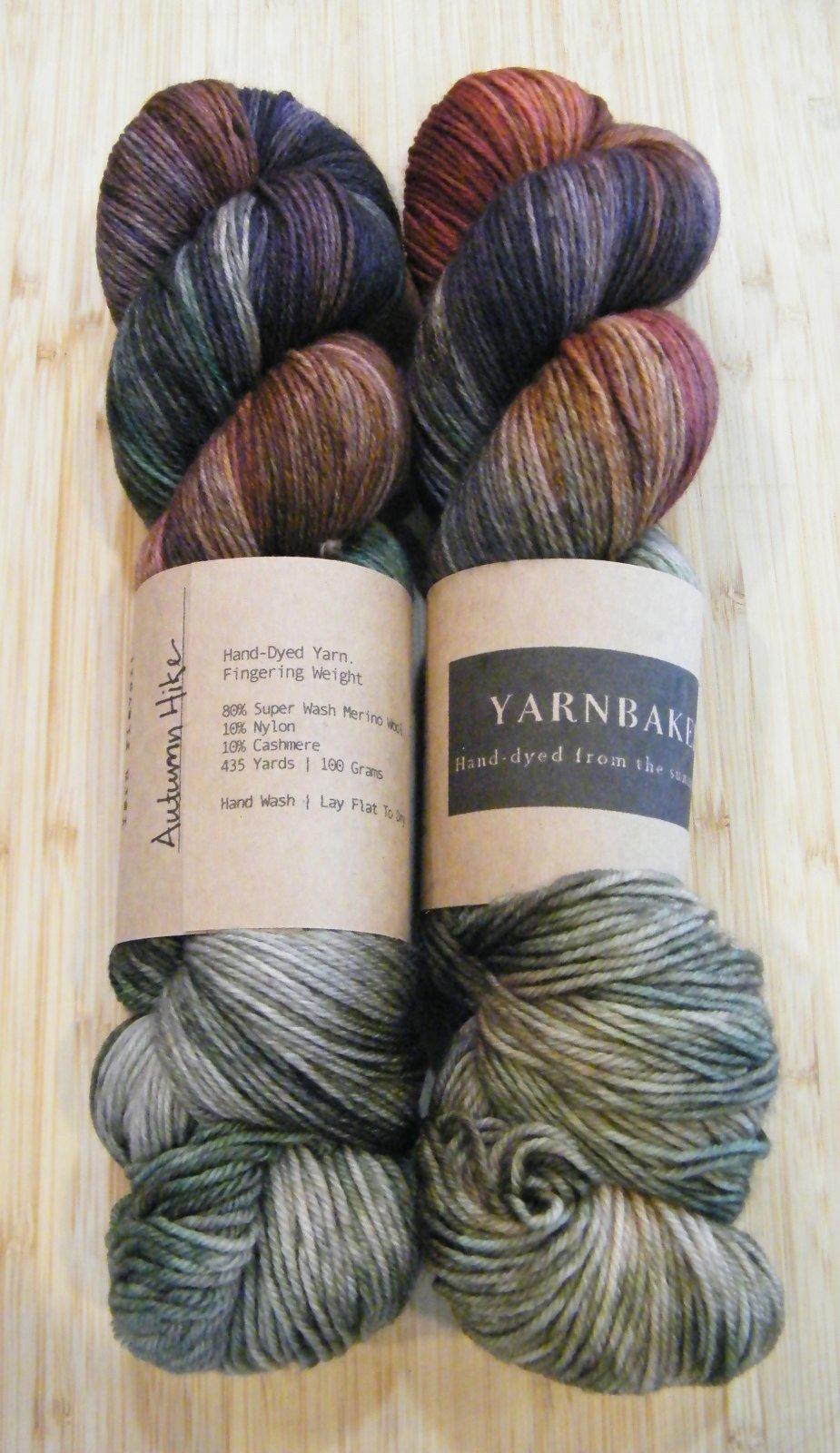 Yarnbaker Hand-Dyed Fingering Yarn