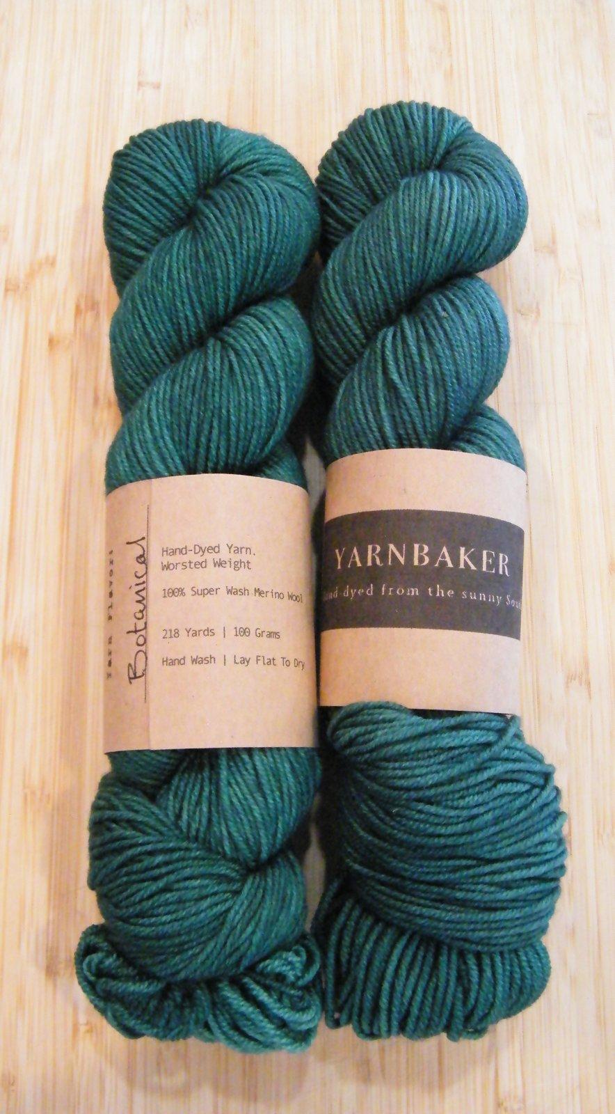 Yarnbaker Hand-Dyed Worsted Wool Yarn