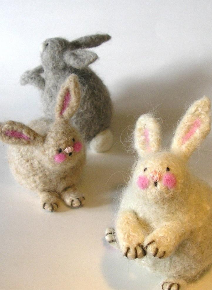 Woolly Bunnies by Marie Mayhew
