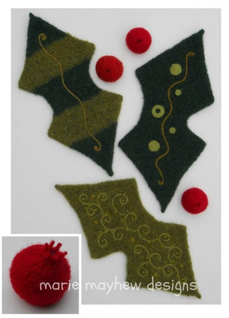 Woolly Holly and Ivy Booklet