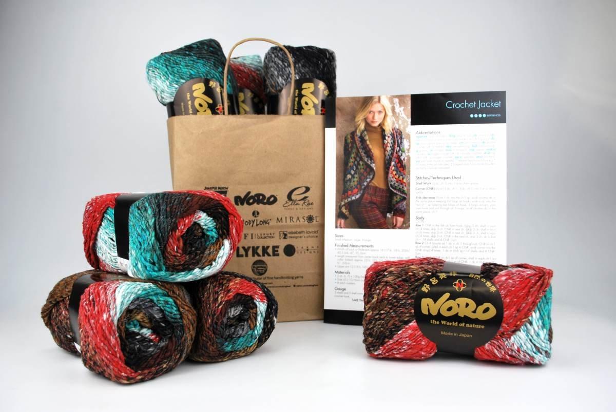 Noro Crochet Jacket - Taiyo