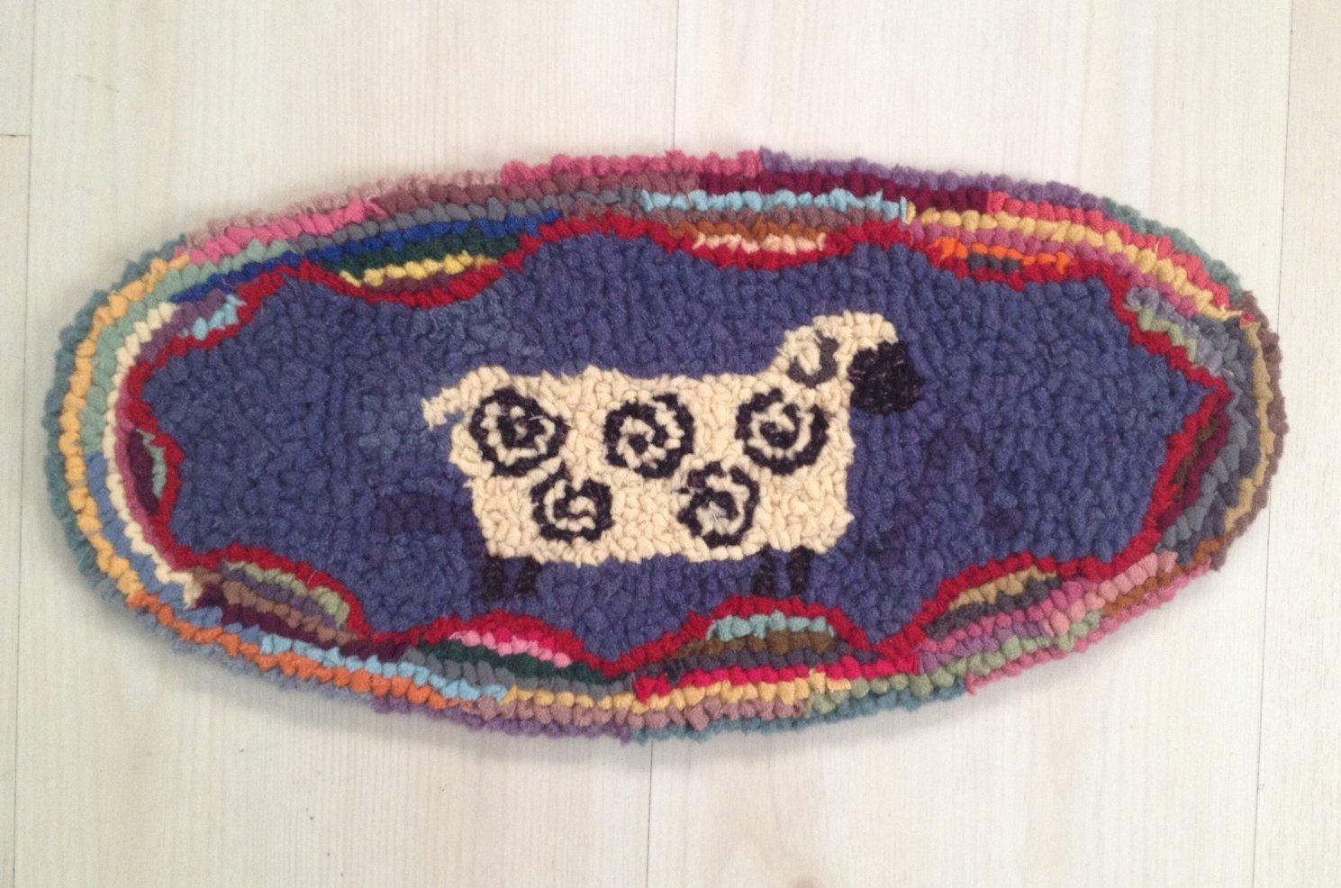Loop by Loop Oval Sheep Kit